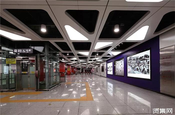 深圳地铁7号线2周岁 斯派克光电LED照明彰显亮丽风格明光